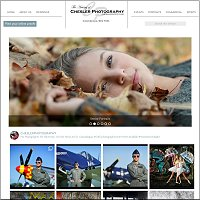 website for Chesler Photography, Canadaigua, NY
