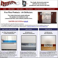 website for Free Flow Products - Hudson, MA