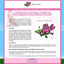 Pink Fly Golf LLC website - Canandaigua NY